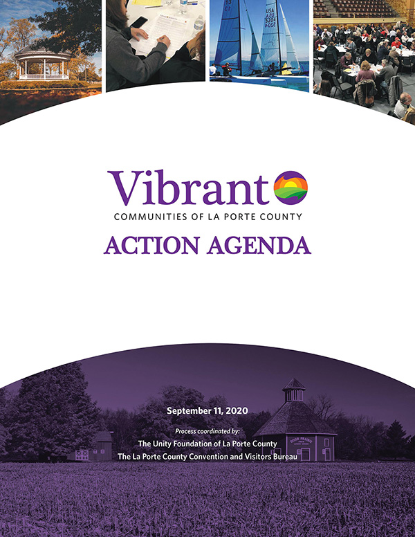 Cover of Vibrant Communities Action Agenda
